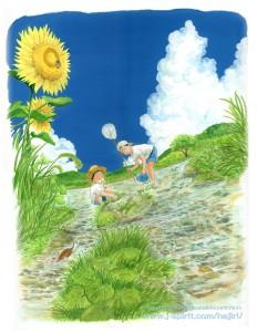 小麦色の夏