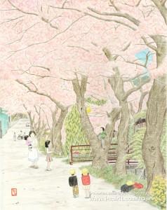 ここまでおいで(京都・山科疏水)