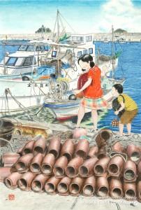 道草日和(徳島・淡島漁港)