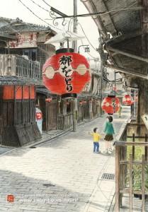 憧れ(京都・祇園)