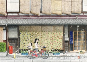 夏の色(京都・南区)
