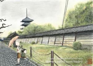 早起きでんでん(京都・東寺)