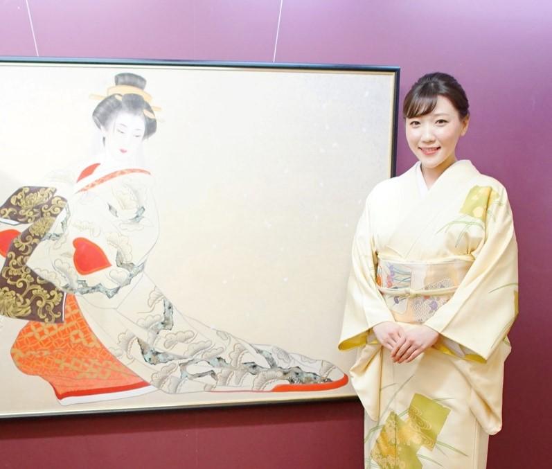日本画家・中西麻莉子