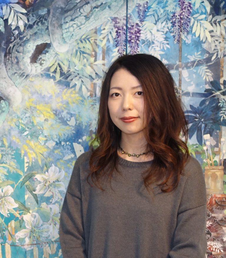 日本画家・飯田文香